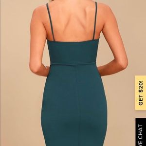 Lulu's Dresses - Lulus Forever Your Girl Real Blue Bodycon Dress